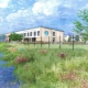 Artists impression of the new Two Rivers Primary School site.
